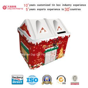 House Shape Saving Money Tin Box (I001-V1) pictures & photos