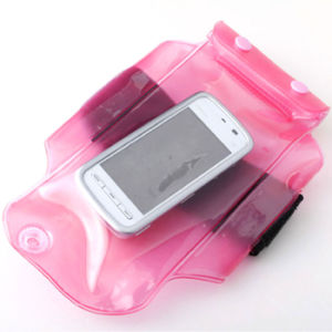 Inflatable Waterproof Mobile Phone Bag with Elastic Armband (YKY7223) pictures & photos