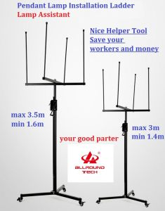 Nice Assistant LED Pendant Light Installation Helper for Ceiling (PLA300-001)