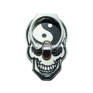 Skull Shape Finger Ring Holder for Mobile Phone, Metal Cell Phone Holder pictures & photos