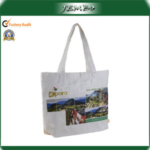OEM Logo Printing Canvas Shopping Bag pictures & photos