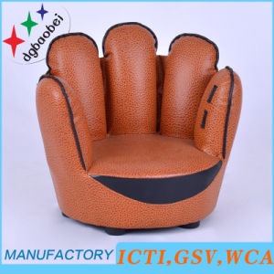 Five Finger Baseball Leather Kids Chair (SXBB-319) pictures & photos