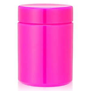 13 Ounce Red Plastic Canister pictures & photos