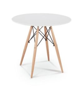 Round MDF Top Dining Table pictures & photos