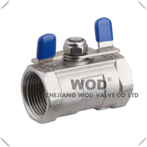 Full Bore 1-PC Ball Valve pictures & photos