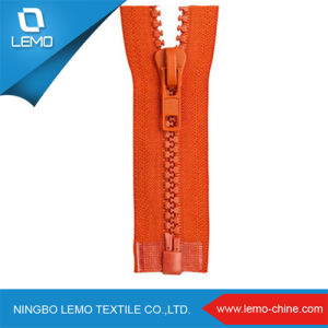 Two Open End Slider Plastic Zipper for Clothing Accessories pictures & photos