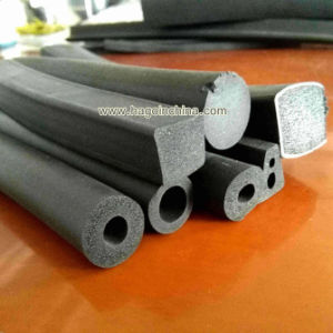 Custom Eco Friendly Sponge Rubber Insulation Strip pictures & photos