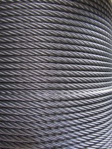7X19 6X19+FC 6X19+Iwrc 6X19+ Iws Stainless Steel Material Wire Rope for Hoisting pictures & photos