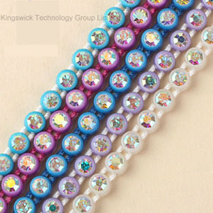 Ss8 Plastic Ab Crystal Rhinestone Banding Trimming pictures & photos