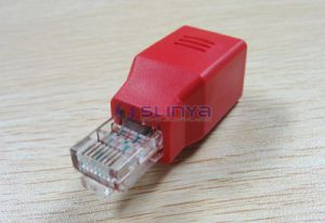 Network Male to Female RJ45 Adapter Extension Connector Straight Thru Connection 8p8c Adapter pictures & photos
