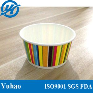 Multi Colour Good Quality Paper Ice Cream Cups pictures & photos