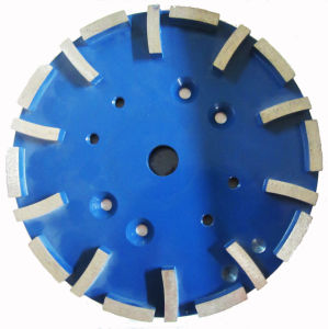 250mm Good Quality Segmented Diamond Cutting Cup Wheel for Concrete pictures & photos