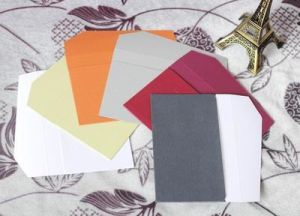 High Quality Colorful Craft Paper Envelope with Custom Printing pictures & photos
