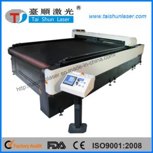 Counterpane CO2 Laser Fabric Cutting Machine for Home Textile pictures & photos
