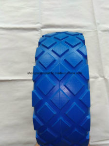 High Quality PU Foam Wheel with Steel or Plastic Rim pictures & photos