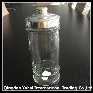 1200ml Food Clear Glass Storage Bottle pictures & photos
