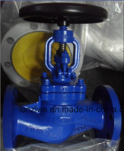 Cast Steel DIN Flange End Globe Valve pictures & photos