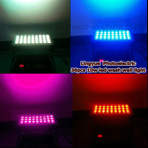 36X12W Outdoor High Power City Color LED Wall Washer Light pictures & photos