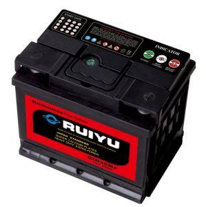 DIN55 12V55ah Lead Acid Calcium Battery Automobile Batteries pictures & photos