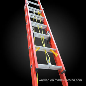 High Quality Insulated Fiberglass Multi-Purpose Extension Ladder pictures & photos