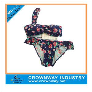 Lastest Fashion Sexy Floral Triangle Brazilian Bikini for Women pictures & photos