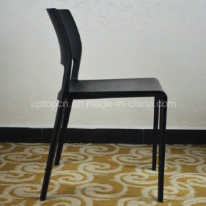 Modern Outdoor Stacking Plastic Restaurant Armless Chair (SP-UC512) pictures & photos