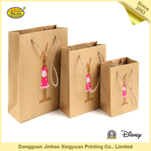 Twist Handle Kraft Paper Bag (JHXY-PB1605182)