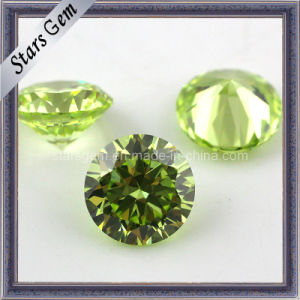 Fashionable Star Cut Hearts & Arrows CZ Gemstone pictures & photos