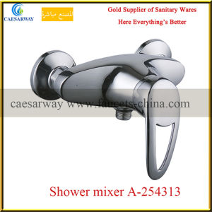 Chrome Bathroom Single Handle Shower Mixer pictures & photos