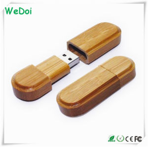 Hot Selling Wooden USB Pen Drive with 1 Year Warranty (WY-W07) pictures & photos