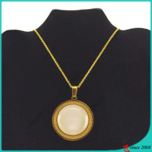 Gold Stone Stainless Steel Neckalce Jewellery for Lady (FN16040901) pictures & photos