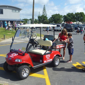 Golf Cart Modified Icecream Cart pictures & photos