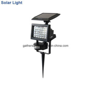 30LED Solar Security PIR Sensor Light with Ce Approved and Multiple Mounted