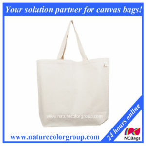 Recycled MID-Weight Cotton Reusable Shopping Bag pictures & photos
