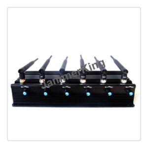 Multi-Functional 3G 4G Cell Phone Jammer and GPS WiFi Lojack Jammer; Adjustable 6 Antenna 15W High Power WiFi, GPS, Mobile Phone Jammer pictures & photos