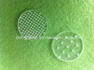 Round Clear Quartz Discs with Hole pictures & photos