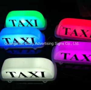 Sticker Taxi Top Advertising Cab Light Box pictures & photos