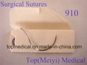 Surgical Suture with Needle-- Polyglactin 910 Braided Suture pictures & photos