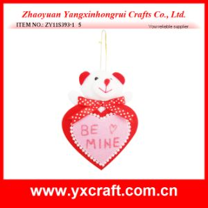 Valentine Decoration (ZY11S393-1) Gift Ornament Craft Product Bear Toy Plush Toy Fabric pictures & photos