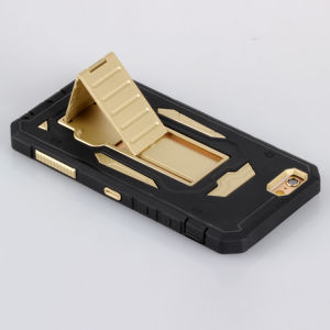 High Quality PC Case Cell/Mobile Phone Case with Back Holder pictures & photos