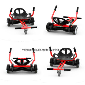 Adjustable Seat Transforms Your Hoverboard Into a Seated, Hover Go Kart pictures & photos