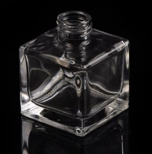 60ml Classic Polished Square Glass Perfume Bottle pictures & photos