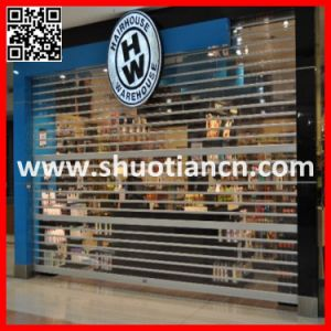 Auto Commercial Polycarboante Roll up Shutter Door (ST0--2) pictures & photos