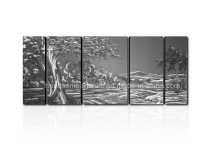 Natural Landscape Metal Wall Art for Trees pictures & photos