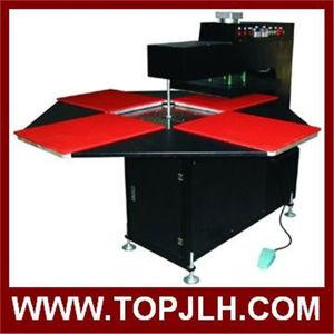 New Four Station Pneumatic Automatic Heat Press Machine