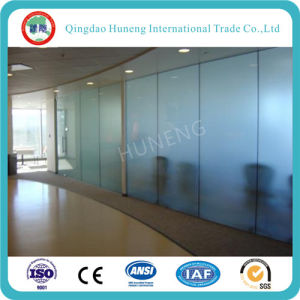 Float Glass/Decorative Glass/Building Glass/Acid Etched Glass pictures & photos