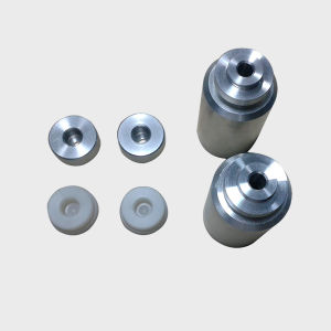 Aluminum Machined Cylinder Parts and Plast Spare Parts pictures & photos