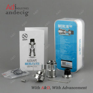 Merlin Rta 23mm 4ml Silver Rebuildable Atomizer Wholesale pictures & photos