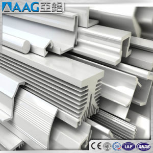 Custom Aluminum/Aluminium Profile for Industrial/Construction pictures & photos