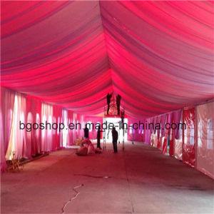 PVC Laminated Tarpaulin Printing PVC Fabric Tent (500dx300d 18X12 340g) pictures & photos